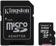 Kingston 64 GB micro SD kaart + adapter