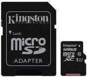 Kingston 128 GB micro SD kaart + adapter