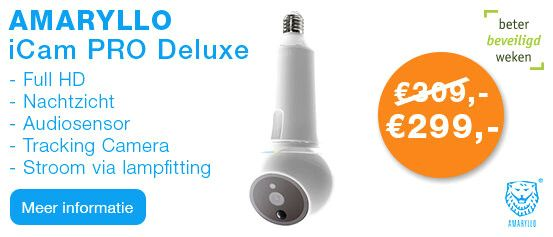 Amaryllo iCamPRO DeLuxe FHD Tracking IP Camera Wit