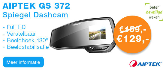 Aiptek GS 372 Full HD Spiegel Dashcam
