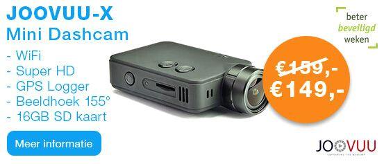 JooVuu-X Super HD Mini Dashcam