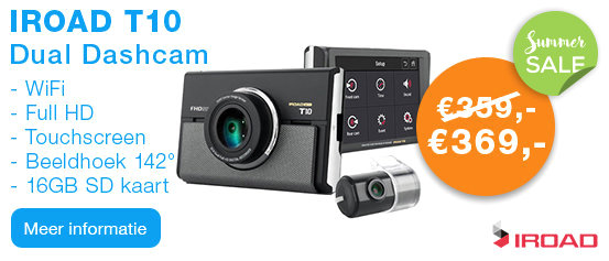 IROAD T10 Full HD WiFi Dashcam