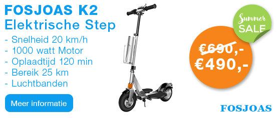Fosjoas K2 Elektrische Step